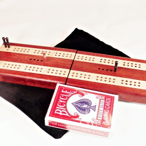 2 Track Compact Travel Cribbage Boards