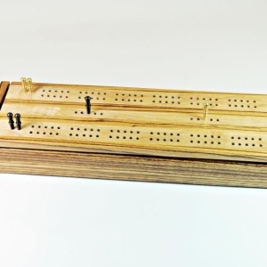 Dual Deck Cribbage Boards