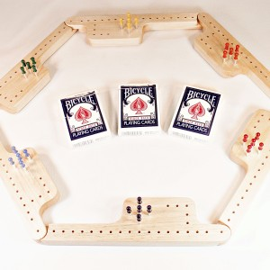 Pegs & Jokers Game Set - Aspen