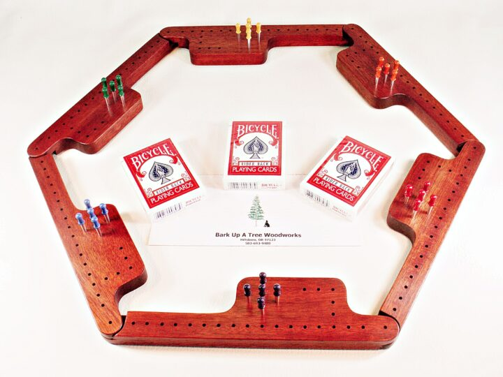 Pegs & Jokers Game Set - Bloodwood