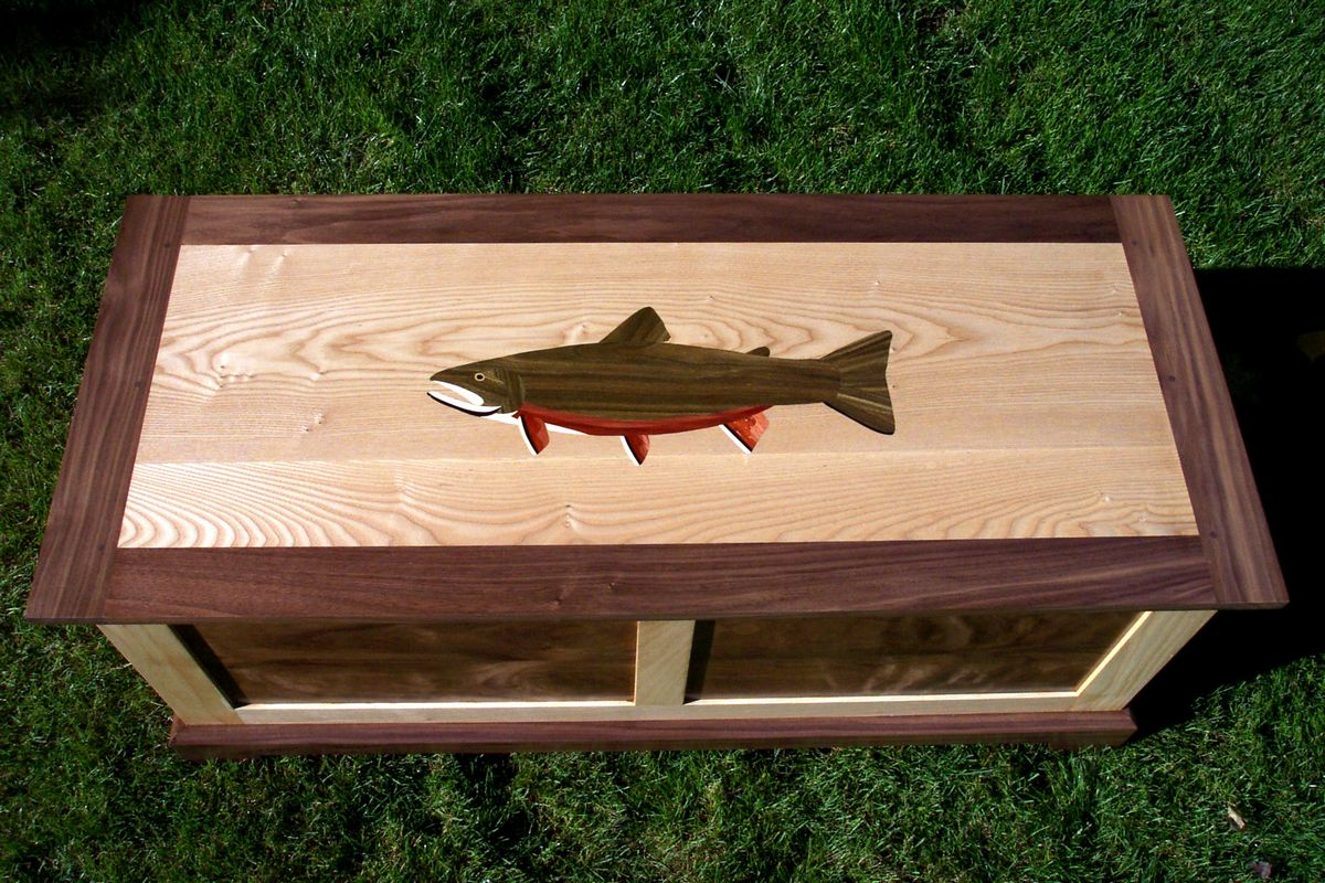 Brook Trout Chest - Top