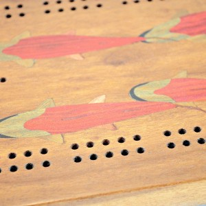 Inlay Cribbage Boards