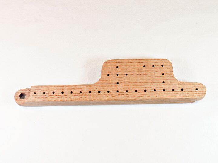 PJ Game Set - Q/S Red Oak - Front