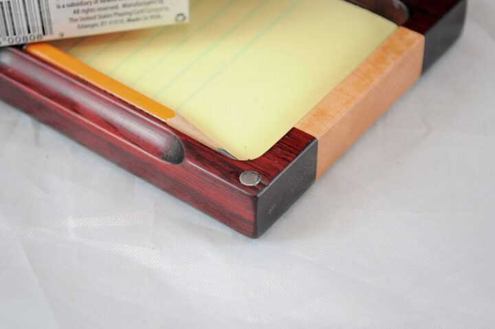 Playing Card Case #73 - Bloodwood & Curly Magnets