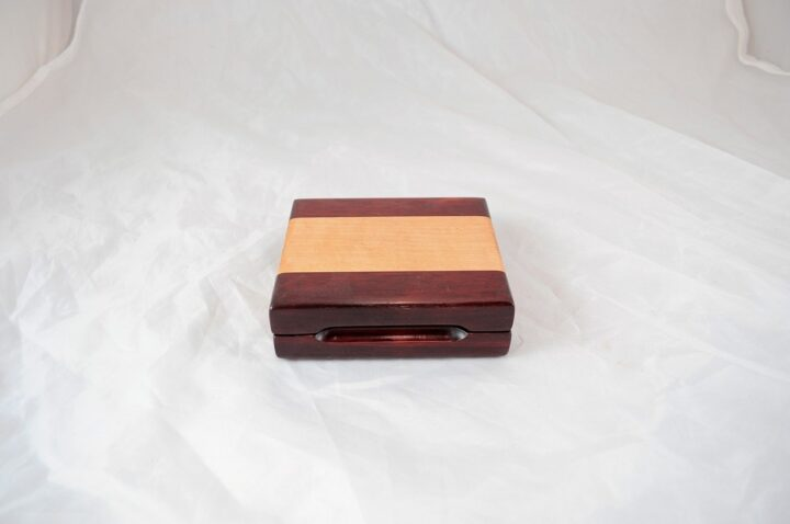 Playing Card Case #73 - Bloodwood & Curly Closed